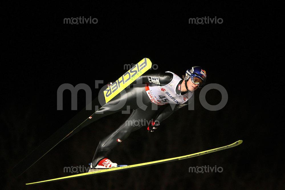 Sapporo , 240207 , Nordische Ski Weltmeisterschaft  Skispringen Grosschanze ,  Thomas MORGENSTERN (AUT)