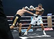 Boxen: World Boxing Super Series, Ali-Trophy, Cruisergewicht, Viertelfinale, WBO-Weltmeisterschaft,  Berlin, 09.09.2017<br /> Oleksandr Usyck (UKR) - Marco Huck (GER)<br /> © Torsten Helmke