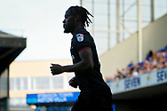 Aston Villa midfielder Joshua Onomah (18) in silhouette during the EFL Sky Bet Championship match between Ipswich Town and Aston Villa at Portman Road, Ipswich, England on 21 April 2018. Picture by Nigel Cole.