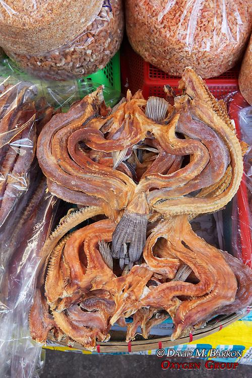 Dried Fish At Gyee Zai Market