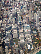"""SHOT 10/15/15 11:57:45 AM - Aerial image of downtown Chicago, Illinois. Chicago is the largest city in the US state of Illinois and the third most populous city in the United States, with around 2.7 million residents. Its metropolitan area, sometimes called """"Chicagoland,"""" is the third largest in the United States, with an estimated 9.8 million people within its metropolitan area. Chicago is the county seat of Cook County. Chicago has many nicknames, which reflect the impressions and opinions about historical and contemporary Chicago. The best known include: """"Chi-town,"""" """"Windy City,"""" """"Second City,"""" and the """"City of Big Shoulders. (Photo by Marc Piscotty / © 2015)"""