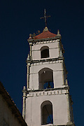 View of Iglesia de San Pancho, a 16th century church that appeared in the John Houston, Humphrey Bogart film, The Treasure of the Sierra Madre. The church was constructed in the Spanish Renaissance style.