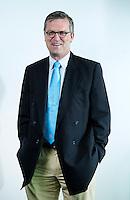ROTTERDAM -  PETER ELDERS, bestuurslid KNHB , belast met o.a. arbitrage.ALV van de KNHB in het Feijenoord Stadion; FOTO KOEN SUYK