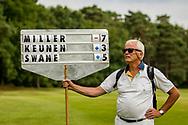 01-09-2016 Golffoto's van het Nationaal Open op de Hilversumsche Golf Club in Hilversum. Finale.  Tussenstanden