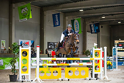 De Plecker Vic, BEL, Donita van den Ham<br /> Nationaal Indoor Kampioenschap Pony's LRV <br /> Oud Heverlee 2019<br /> © Hippo Foto - Dirk Caremans<br /> 09/03/2019