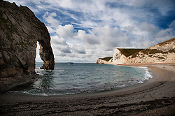 Durdle Door on the Jurassic Coast, Dorset, England, UK.