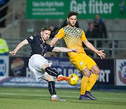 Falkirk's Bob McHugh. Falkirk 0 v 1 Morton, Scottish Championship game played 18/3/2017 at The Falkirk Stadium.