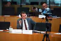 DEU, Deutschland, Germany, Berlin, 23.06.2021: Deutscher Bundestag, Sitzung des Wirtschaftsausschusses, Dr. Andreas Lenz (CSU).