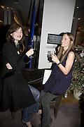 Jasmine Guinness and Honey Bowdrey, Make-A-Wish Charity Evening at Selfridges, Selfridges,  400 Oxford St. London. 17 December 2007. -DO NOT ARCHIVE-© Copyright Photograph by Dafydd Jones. 248 Clapham Rd. London SW9 0PZ. Tel 0207 820 0771. www.dafjones.com.