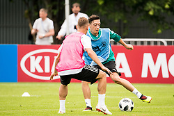 June 13, 2018 - Moscow, Russia - 180613 Mesut Ozil of Germany during a practice session ahead of the 2018 FIFA World Cup on June 13, 2018 in Moscow..Photo: Petter Arvidson / BILDBYRN / kod PA / 92061 (Credit Image: © Petter Arvidson/Bildbyran via ZUMA Press)