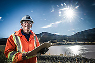 Employee portraits shot on location, for company promotional and human resources purposes.