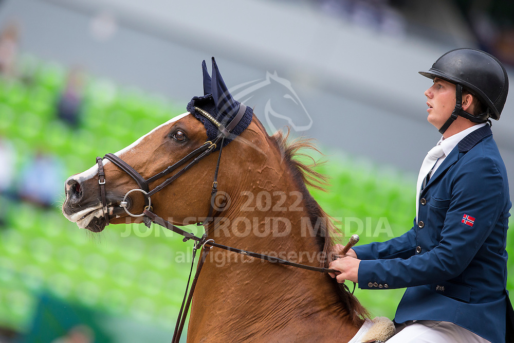 Ole Kristoffer Meland, (NOR), CC Top - Team & Individual Competition Jumping Speed - Alltech FEI World Equestrian Games™ 2014 - Normandy, France.<br /> © Hippo Foto Team - Leanjo De Koster<br /> 02-09-14