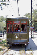 New Orleans streetcar, New Orleans, LA, USA