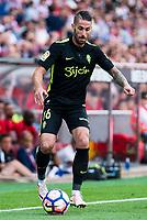 "Sporting de Gijon's Manuel ""Lillo"" Castellano during a match of La Liga Santander at Vicente Calderon Stadium in Madrid. September 17, Spain. 2016. (ALTERPHOTOS/BorjaB.Hojas)"