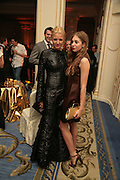 Fiona Scarry and Anouska Beckwith, The Essential Party Guide Evening of Golden Glamour. The Ballroom, Mandarin oriental, Hyde Park. 27 March 2007. -DO NOT ARCHIVE-© Copyright Photograph by Dafydd Jones. 248 Clapham Rd. London SW9 0PZ. Tel 0207 820 0771. www.dafjones.com.