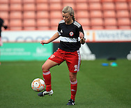 Sheffield United Ladies' Annalise Carroll warms up prior to kick off during the FA Women's Cup First Round match at Bramall Lane Stadium, Sheffield. Picture date: December 4th, 2016. Pic Clint Hughes/Sportimage