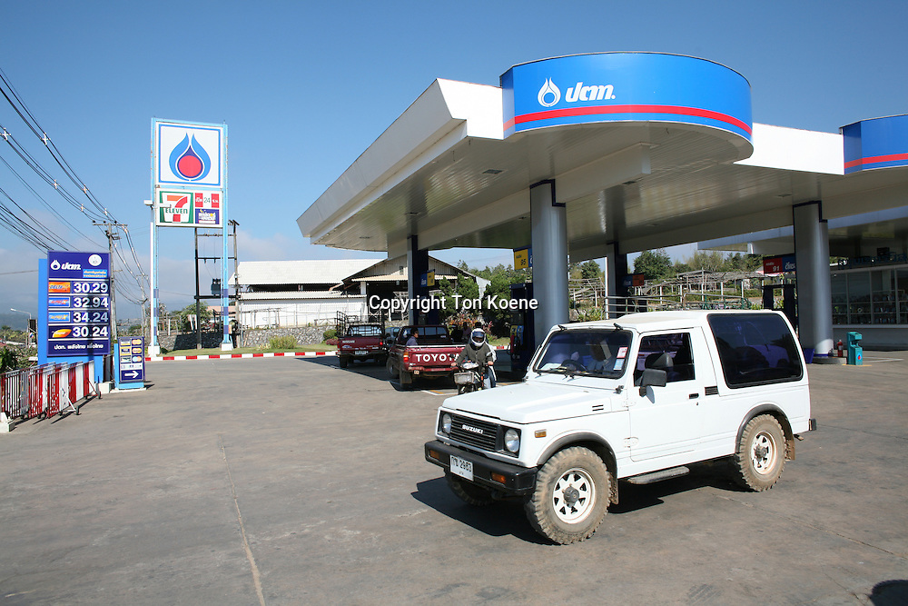 petrol station in bangkok