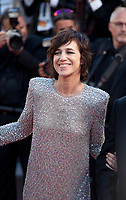 Actress Charlotte Gainsbourg at the opening ceremony and Ismael's Ghosts (Les Fantômes D'ismaël) gala screening,  at the 70th Cannes Film Festival Wednesday May 17th 2017, Cannes, France. Photo credit: Doreen Kennedy