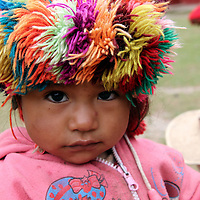 South America, Peru, Willoq. Willoq Baby.