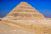 Renovations completed at the step pyramid of Djoser in preparation for opening to the public on November 22nd 2019