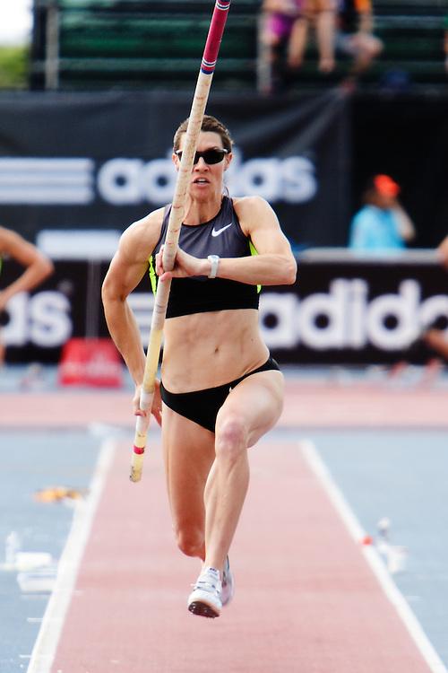 Samsung Diamond League adidas Grand Prix track & field; women's pole vault, Lacy Janson, USA