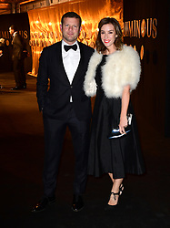 Dermot O'Leary and Dee Koppang attending the BFI Luminous Fundraising Gala held at the Guildhall, London.