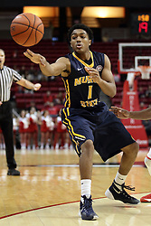13 December 2015:  Bryce Jones(1). Illinois State Redbirds host the Murray State Racers at Redbird Arena in Normal Illinois (Photo by Alan Look)