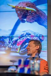09.07.2019, Red Bull Ring, Spielberg, AUT, Marcel Hirscher mit MotoGP Bike am Red Bull Ring, Pressetermin, im Bild Team-Manager Mike Leitner (Red Bull KTM Factory Racing) // Team-Manager Mike Leitner (Red Bull KTM Factory Racing) during a press event Marcel Hirscher with MotoGP Bike on Red Bull Ring in Spielberg, Austria on 2019/07/09. EXPA Pictures © 2019, PhotoCredit: EXPA/ Dominik Angerer
