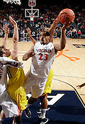 CHARLOTTESVILLE, VA- NOVEMBER 29: Mike Scott #23 of the Virginia Cavaliers shoots the ball during the game on November 29, 2011 at the John Paul Jones Arena in Charlottesville, Virginia. Virginia defeated Michigan 70-58. (Photo by Andrew Shurtleff/Getty Images) *** Local Caption *** Mike Scott
