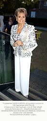 TV presenter ANGELA RIPPON, at a party in London on 12th September 2003.PMJ 34