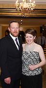 Andrew and Anna Downes Kinvara at the Gorta Self Help Africa Annual Ball in Hotel Meyrick Galway City. Photo: Andrew Downes, XPOSURE.