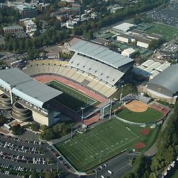 aerial view of university of Washington, Seattle, Husky Stadium