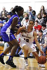 Washington Township High School vs Paul VI High School Girls Basketball - 2009 Jan 20