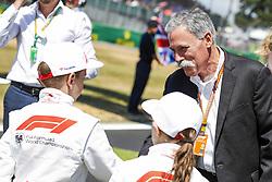 July 8, 2018 - Silverstone, Great Britain - Motorsports: FIA Formula One World Championship 2018, Grand Prix of Great Britain, ..Chase Carey  (Credit Image: © Hoch Zwei via ZUMA Wire)