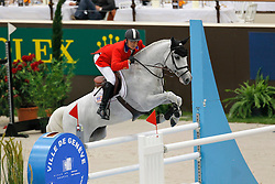 Berkley Ken (USA) - Carlos Boy<br /> Rolex FEI World Cup Final - Geneve 2010<br /> © Dirk Caremans