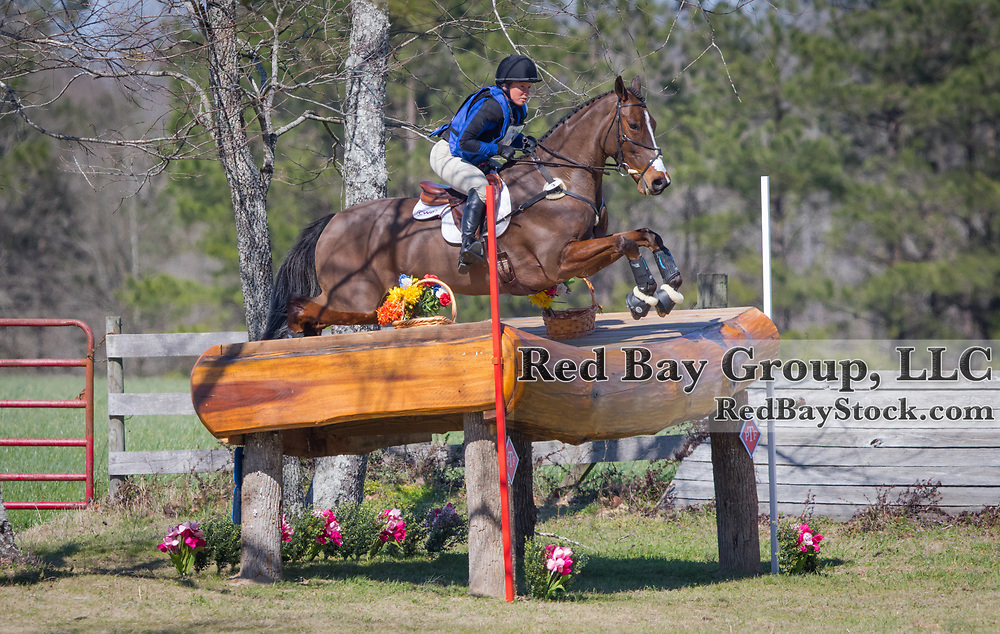 Colleen Rutledge (USA) and Covert Rights at Pine Top Advanced Horse Trials in Thomson, GA.