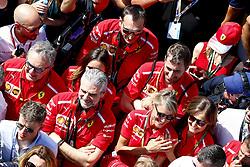 July 8, 2018 - Silverstone, Great Britain - Motorsports: FIA Formula One World Championship 2018, Grand Prix of Great Britain, .Maurizio Arrivabene (ITA, Scuderia Ferrari) (Credit Image: © Hoch Zwei via ZUMA Wire)