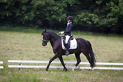 Meyssen Tahnee (BEL) - Matcho 'D' vh Prinsenhof <br /> Winnaar 6jaar D - dressuur<br /> Finale SBB jonge ponies - Oud Heverlee 2014<br /> © Dirk Caremans
