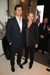 TOM & DAVINA BARBER she was Davina Duckworth-Chad, a friend of Prince William's at a party to launch jeweller Boodles new store at 178 New Bond Street, London W1 on 26th September 2007.<br />