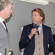 NLD/Lienden20161025 - Boekpresentatie Hans Kraay, schrijver Vincent de Vries en Hans en Hélène Hendriks