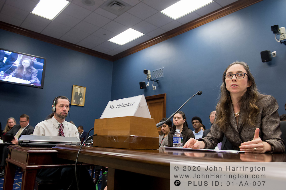 """Ms. Dania Palanker, Assistant Research Professor, Georgetown University testifies before the Small Business Committee of the U.S. House of Representatives titled, """"Reimagining the Health Care Marketplace for America's Small Businesses"""", Tuesday, February 7, 2017."""