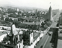 1933 Chinese Theater on Hollywood Blvd. & Orange Dr.