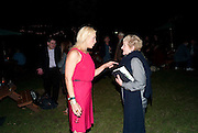 BOTH ACTRESSES HAVE PLAYED THE SAME ROLE: HANNAH WADDINGHAM; JULIA MACKENZIE; Press night for Into the Woods. Regents Park Open air theatre. London. 16 August 2010. -DO NOT ARCHIVE-© Copyright Photograph by Dafydd Jones. 248 Clapham Rd. London SW9 0PZ. Tel 0207 820 0771. www.dafjones.com.