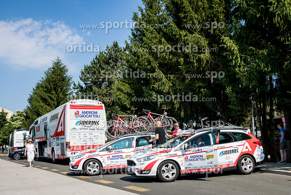 during 3rd Stage of 26th Tour of Slovenia 2019 cycling race between Zalec and Idrija (169,8 km), on June 21, 2019 in Slovenia. Photo by Matic Klansek Velej / Sportida