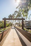 Goldenrod Footbridge Corona Del Mar Newport Beach California