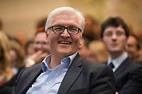 26 MAR 2012, BERLIN/GERMANY:<br /> Frank-Walter Steinmeier, SPD Fraktionsvorsitzender, Fruehjahrsempfang der SPD-Bundestagsfraktion, Sitzungssaal der SPD Fraktion, Deutscher Bundestag<br /> IMAGE: 20120326-01-0