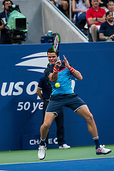 September 2, 2018 - Flushing Meadow, NY, U.S. - FLUSHING MEADOW, NY - SEPTEMBER 02: MILOS RAONIC (CAN) day seven of the 2018 US Open on September 02, 2018, at Billie Jean King National Tennis Center in Flushing Meadow, NY. (Photo by Chaz Niell/Icon Sportswire) (Credit Image: © Chaz Niell/Icon SMI via ZUMA Press)