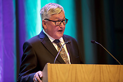 Fergus Ewing, Scottish Secretary for Rural Affairs, speaking at the Scotland Food and Drink AGM at the Assembly Rooms, Edinburgh. Pic: Terry Murden @edinburghelitemedia