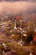 images-of-america-best-photo-decor-online-from-wells-imagery, Aerial image of Meredith, New Hamsphire in the fall, America Northeast by Randy Wells