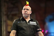 during the BetVictor World Matchplay Darts 2018 semi final at Winter Gardens, Blackpool, United Kingdom on 28 July 2018. Picture by Shane Healey.